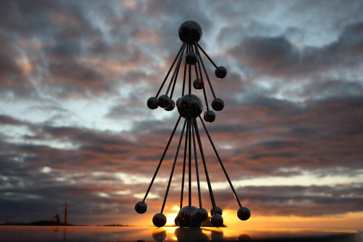Sky Sculpture AOTEAROA by Hans-Leo Peters 2015 -2 ( New Zealand Night )