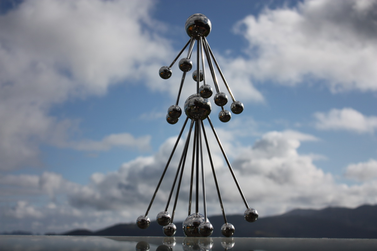 Sky Sculpture AOTEAROA by Hans-Leo Peters 2015 ( New Zealand Day )