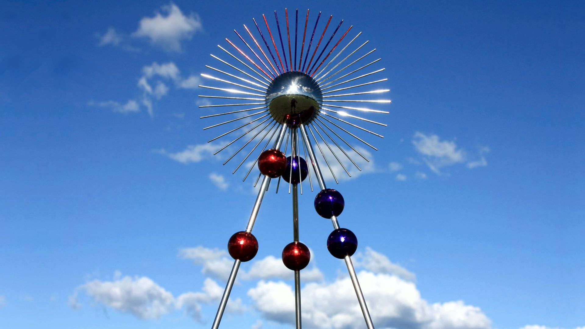Sky and Light Sculpture USA by Hans-Leo Peters 2019